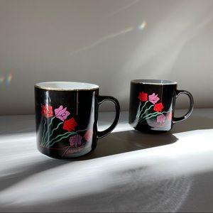 2 Vintage Tulip x Toronto Mugs